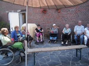 Les Ainés en visite
